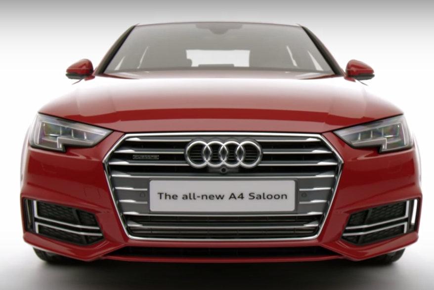Novo Audi A4 S Line sedan