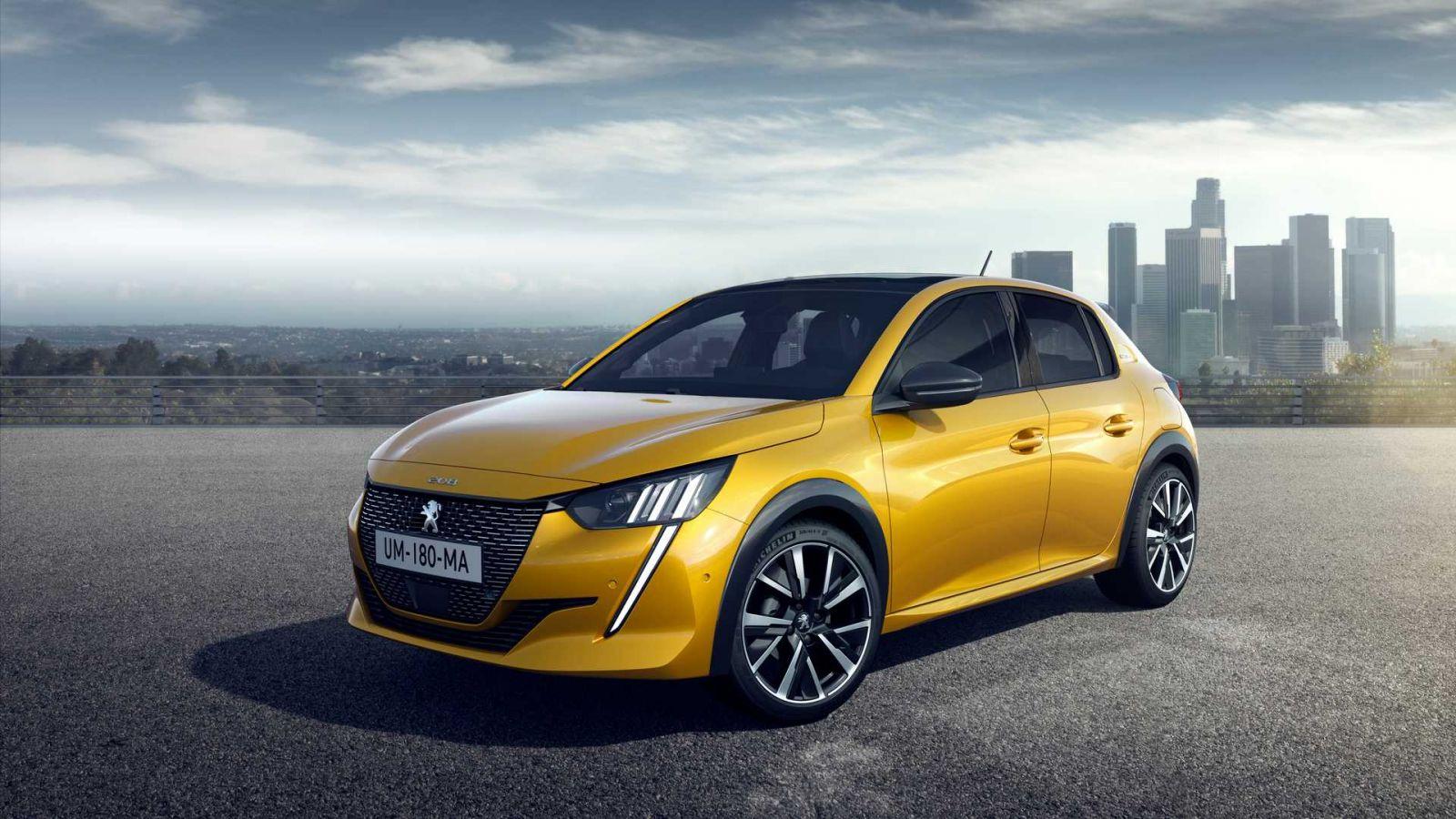 Peugeot e208 2021