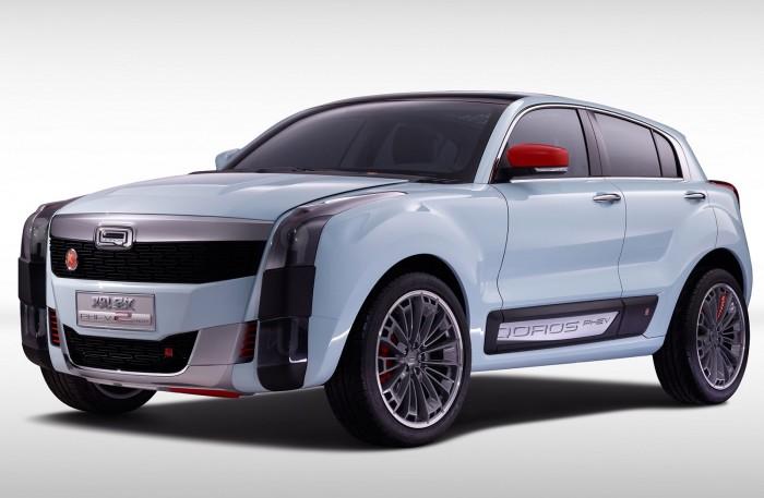 Qoros SUV PHEV Concept