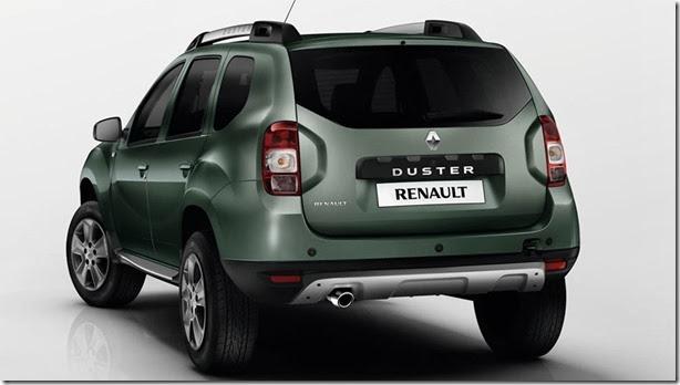 Renault Duster reestilizado