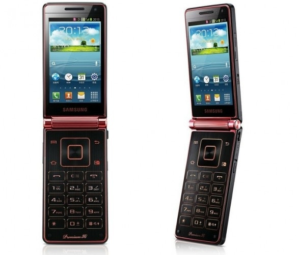 Smartphone com flip da Samsung