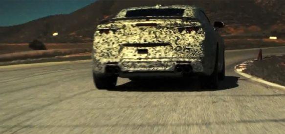 Teaser Chevrolet Camaro 2016