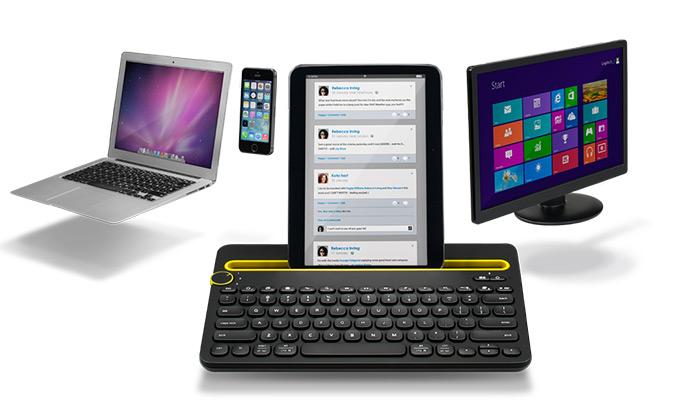 Teclado K480 Bluetooth Multi-Device
