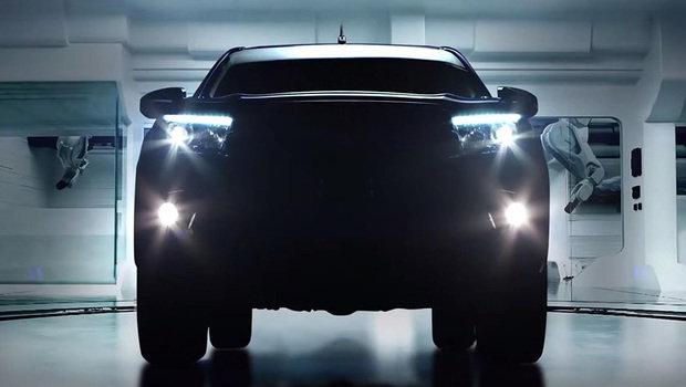 Teaser Toyota Hilux Revo