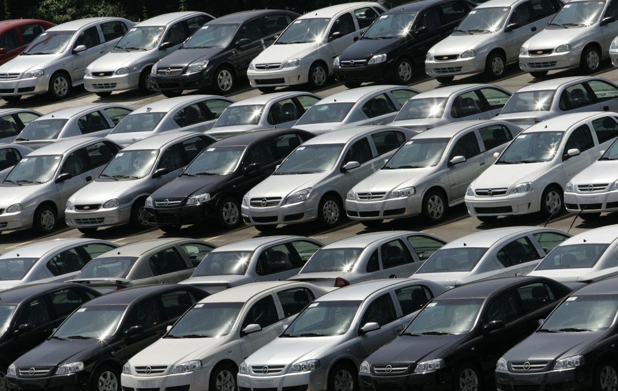 Vendas de carros no Brasil