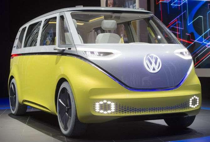 Volkswagen Kombi elétrica